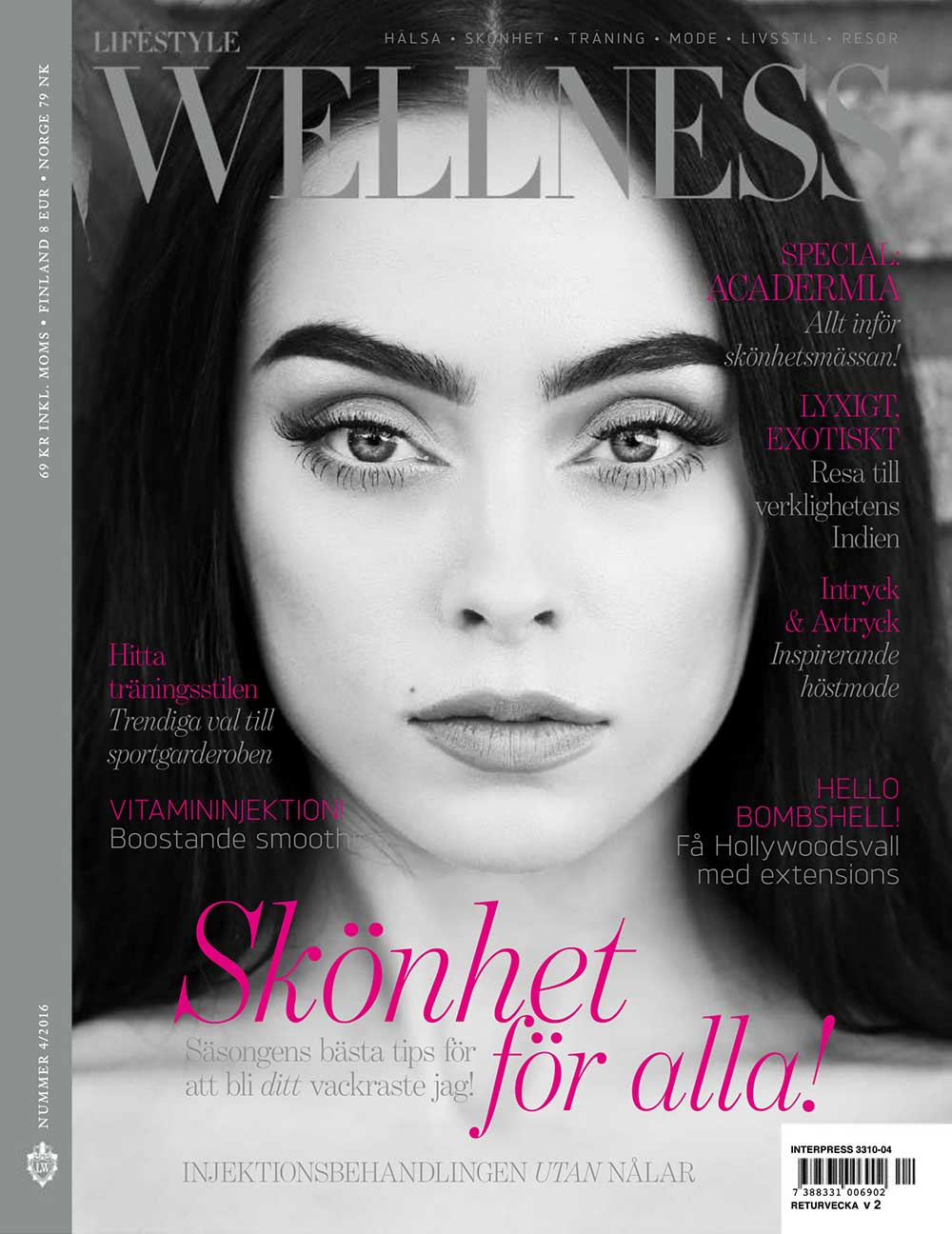 Wellness Magazine Cover